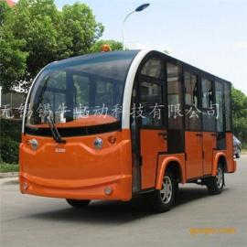 直供8座封闭式电动观光车,四轮看房接待车,景区摆渡代步车