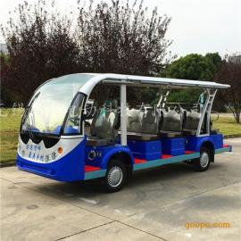 直供成都14座电动观光车,酒店旅游接待车,房产看房车