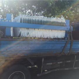 20平方压滤机过滤污水