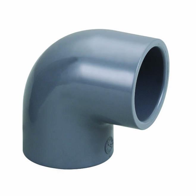 CPVC化工管件90度弯头 美标国标