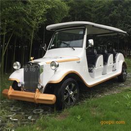 直供上海8座电动老爷车,贵宾看房接待车,四轮公园观光车