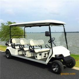 供应湖南8座电动高尔夫球车,机场接送观光车,四轮看房车
