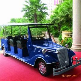 直供上海6座电动老爷车,贵宾接待观光车,四轮仿古看房车