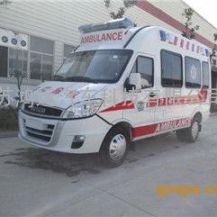 依维柯NJ5045XJHFD新款救护车
