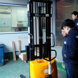 供应半电动堆高车CDD10电动堆垛机 升高车3M电动搬运车
