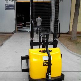 1/1.5吨半电动堆高车/升高车/升降叉车/装卸车/堆高机