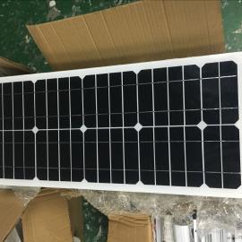 6米25WLED高亮锂电池一体化太阳能路灯(超长阴雨天气)