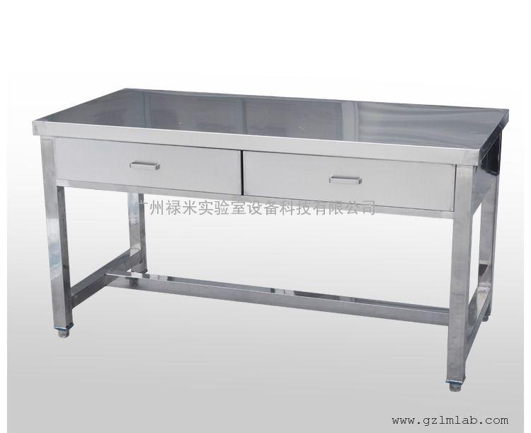 304材质 不锈钢桌子 不锈钢台子 不锈钢工作台图片