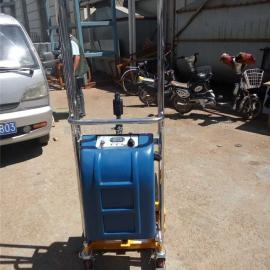 厂家直销迷你型堆高车400KG/1.5米 轻型半电动堆高机