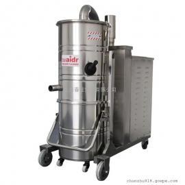 东莞工业用大型吸尘器5500W强力长时间工作吸颗粒焊渣设备
