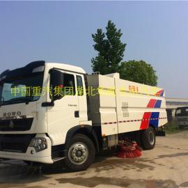 重汽12立方大型柴油清扫车