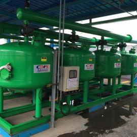 供应多灵 DMF全自动浅层砂过滤器 自动反洗浅层介质过滤器
