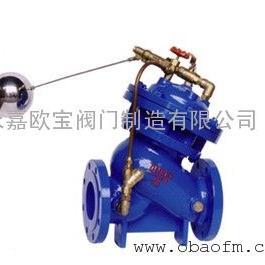 欧宝供应F745X-16P不锈钢多功能遥控浮球阀