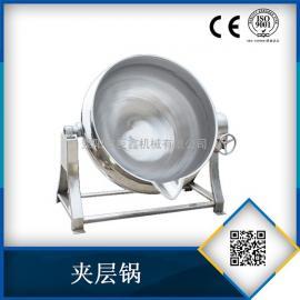 电加热蒸煮夹层锅炒料锅 高效节能炒料锅