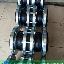 出口耐油、耐酸碱橡胶软接头,橡胶软连接、不锈钢法兰橡胶接头