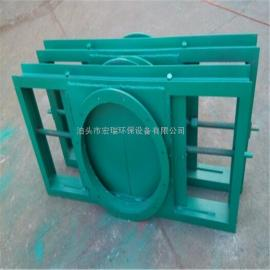 手动插板阀 手动发型闸阀 方形圆形可定制