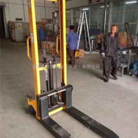 供应 2吨堆高车 手动升高车 3T液压手推车 手动液压叉车
