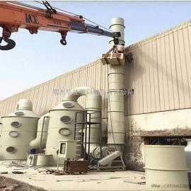山东烟气脱硫设备喷淋塔活性炭吸附塔装置厂家定制