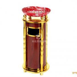 宁波优质方形带烟灰缸不锈钢垃圾桶 众达生产厂家 批发直销