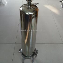 304不锈钢过滤器 厂家直销卫生级222插口2芯20英寸精密过滤器