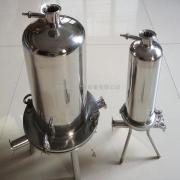 不锈钢过滤器 卫生级226插口10英寸3芯精密管道过滤器