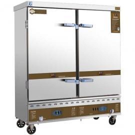 美厨燃气蒸饭车24盘MC-R24 商用24盘燃气蒸饭柜