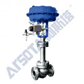 气动超低温调节阀 气动液氨专用调节阀 气动长杆调节阀