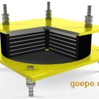 HDR LNR铅芯隔震橡胶支座 水平分散型橡胶支座亚通供应