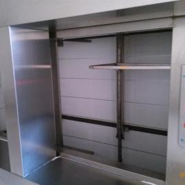 酒店专用传菜机,使用方便安全,楼层与楼层之间传菜便捷,节省劳