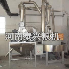 粮食加工机械设备电动石磨面粉机 电动石磨磨面机订做