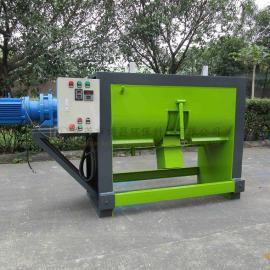 厂家直销300公斤涂料搅拌机 卧式粉料搅拌机专业混合机。