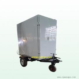 TR/通瑞牌ZJA-FT封闭拖车式双级真空滤油机
