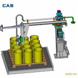 上海凯士摇臂式液体灌装机 托盘旋转式灌装机