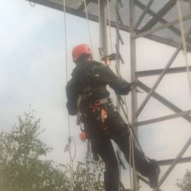 垂直生命线爬梯爬塔系统安装 霍尼韦尔垂直VIGO生命线