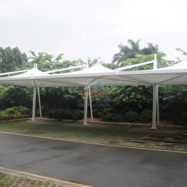 停车棚膜结构,张拉膜,PTFE膜材,膜结构厂家,