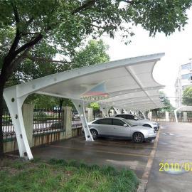 膜结构停车棚,张拉膜,膜结构厂家,空间膜