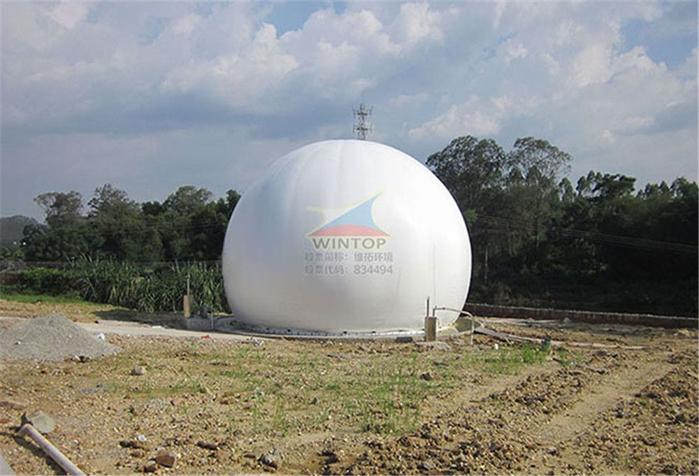 双膜气柜生产厂家, 膜结构储气罐, 双模沼气罐