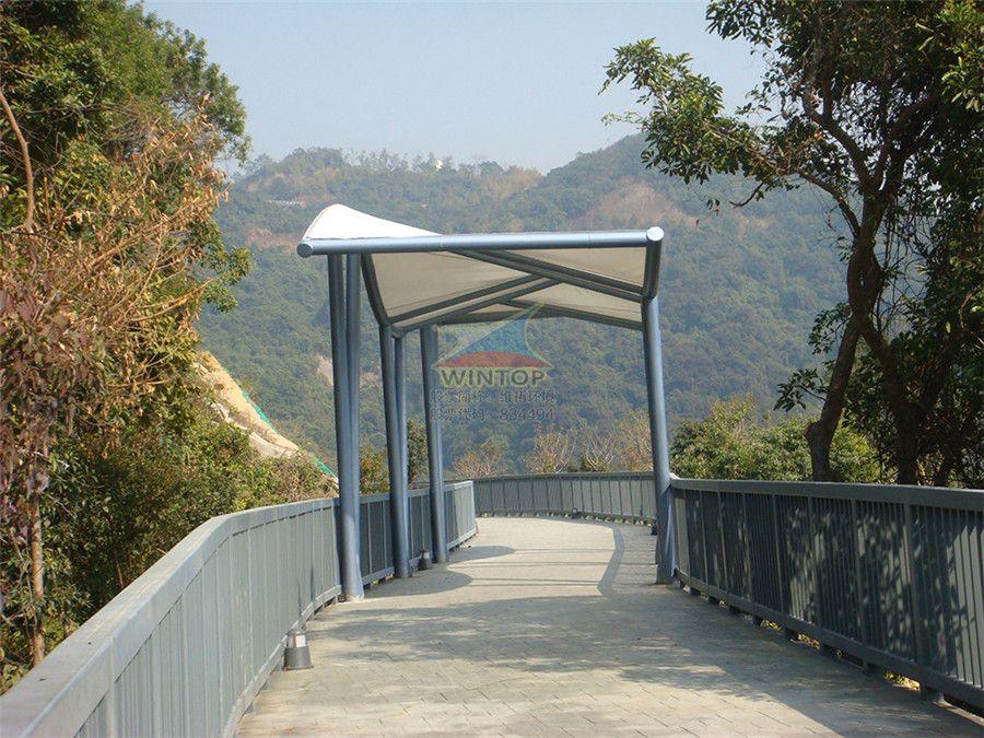 景区观景台膜结构,美观耐用,膜材加工厂,膜结构