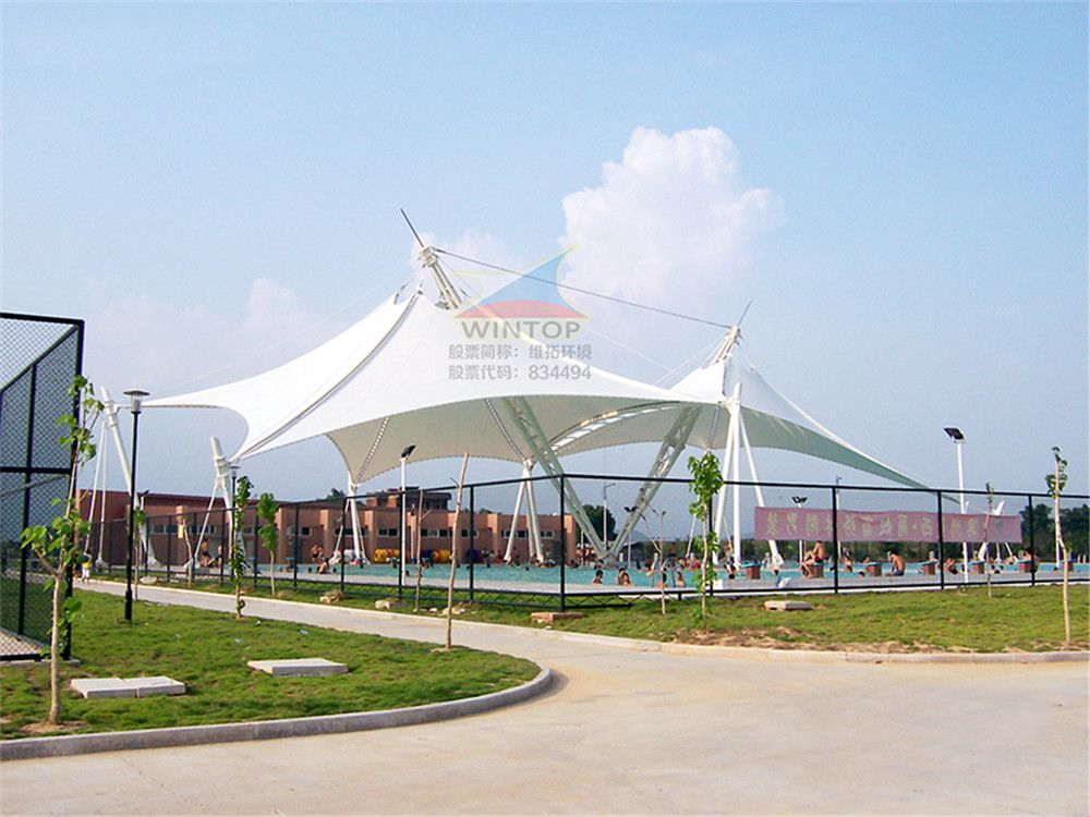 游泳池景观膜结构,美观耐用,膜材加工厂,膜结构