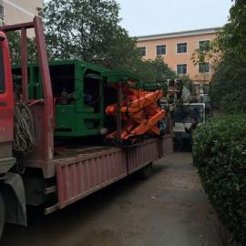 广东水平地埋压缩式垃圾中转站设备