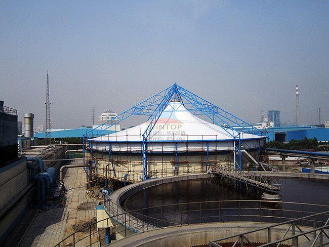 固定式污水池加盖和除臭 防腐耐用 密封性好 检修方便
