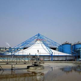 东莞玖龙纸业污水池加盖除臭,废臭气收集与净化,污水处理