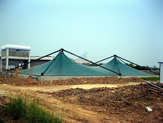 华电龙感湖沼液池加盖除臭,生活污水处理,废臭气收集与净化