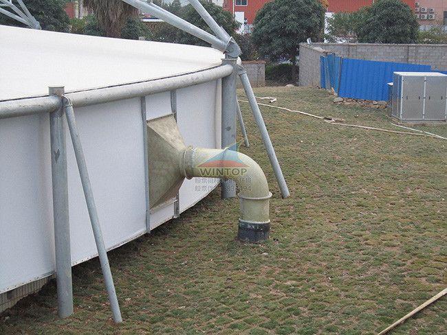 南宁�岸�污水池加盖除臭,污水处理,钢支撑反吊膜