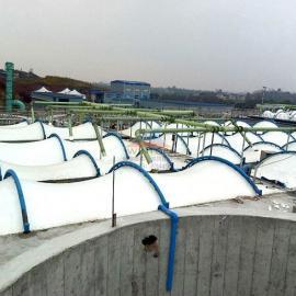 四川广安污水池加盖,废臭气收集与净化,生活污水处理