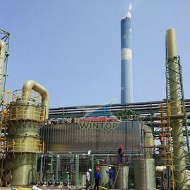 亚太森博污水池加盖除臭,废臭气收集与净化,污水处理,膜结构