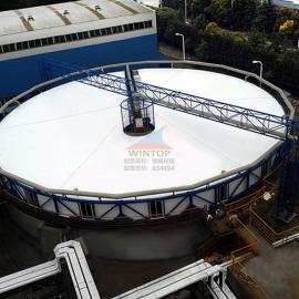 上海中隆纸业污水处理,废臭气收集与净化,污水池加盖除臭