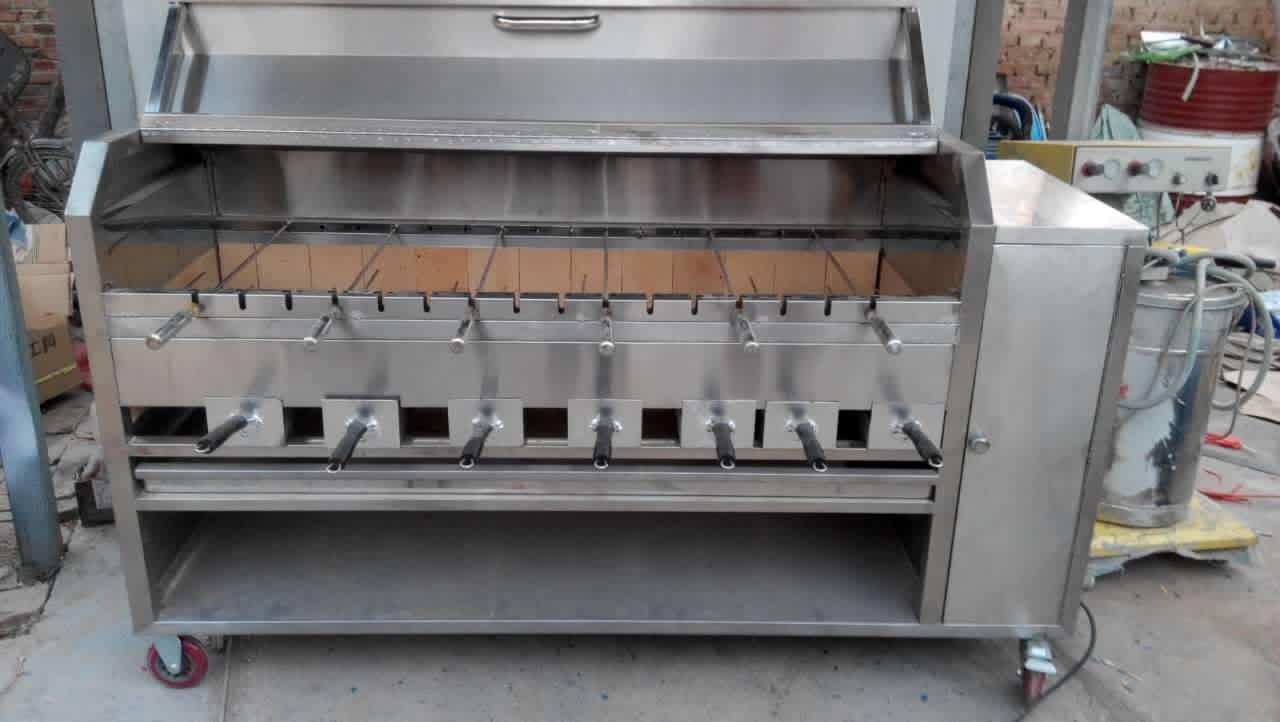 全自动烤不锈钢烤羊腿羊排炉生产厂家