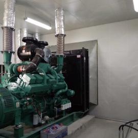 发电机房噪声治理 尾气噪声综合治理环保工程 设备房降噪工程