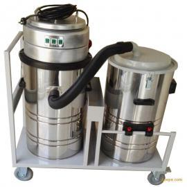 家具厂用吸木屑吸尘器大量粉尘用强力工业吸尘器